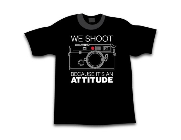 We Shoot Leica Because It's An Attitude